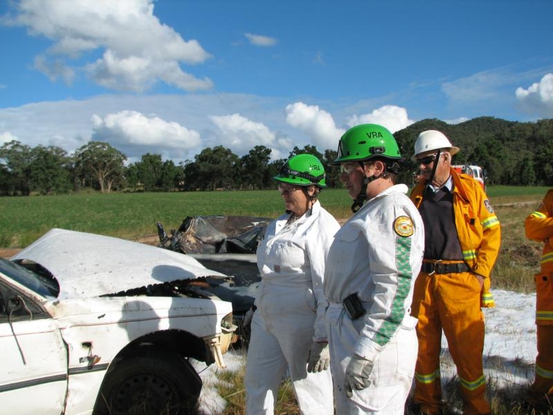 Lawson Rural Fire Service Training Day