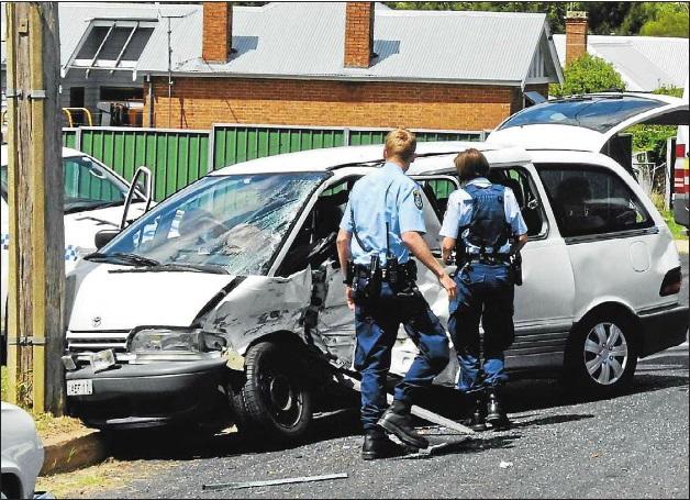 Passenger injured in accident