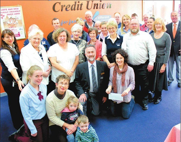 Family First Credit Union gives where credit is due